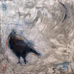 The Bird And Moon  Hooman Nasiri