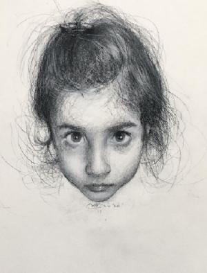 One day a portrait of my daughter one  Yaser Mirzaee