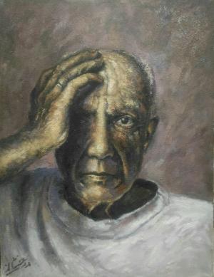 Picasso  aboalghasem derakhshan