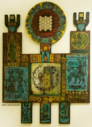 Talisman mirrors 2  Effat Manouchehri