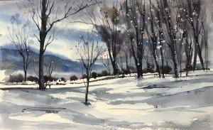 winter one  نگار سلیمیان