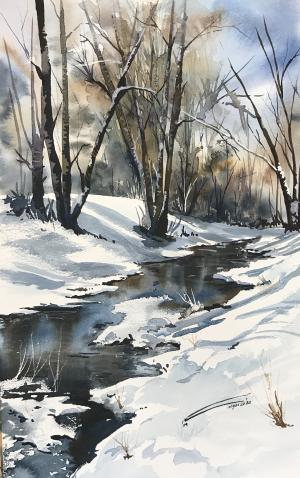 winter  نگار سلیمیان