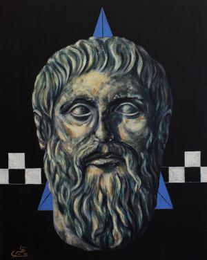 face to face with philosophers -plato  Sina Naziri