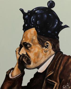 face to face with philosophers -Nietzsche  Sina Naziri