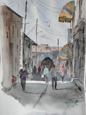 Zanjan market  keyvan ahmadianheravi
