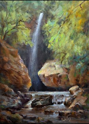 Waterfall   hamid pazoki