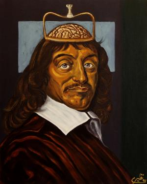 face to face with philosophers -Descartes  Sina Naziri