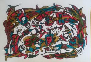 Untitled  Hossein  Bakhtari
