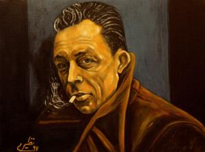 face to face with philosophers -Camus  Sina Naziri