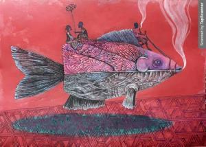 Smoked fish  Kamal Tabatabaie