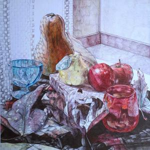 Autumn still life   Sara Pourfarzaneh