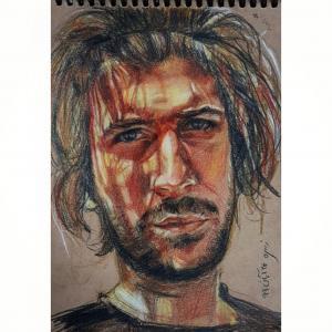 Portrait  Zohre Montazeri
