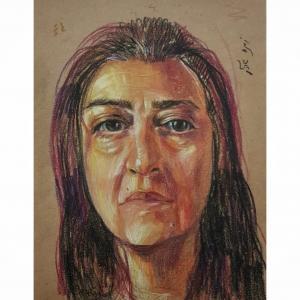 Mom's portrait  Zohre Montazeri