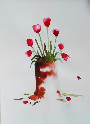 My mind flowers5  Robabeh(Roya) Delkhosh
