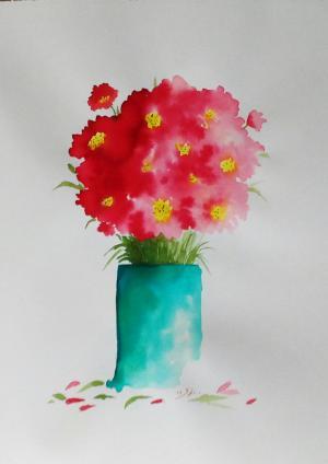 My mind flowers2  Robabeh(Roya) Delkhosh