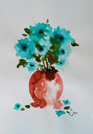 My mind flowers4  Robabeh(Roya) Delkhosh