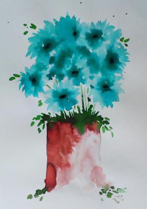My mind flowers1  Robabeh(Roya) Delkhosh