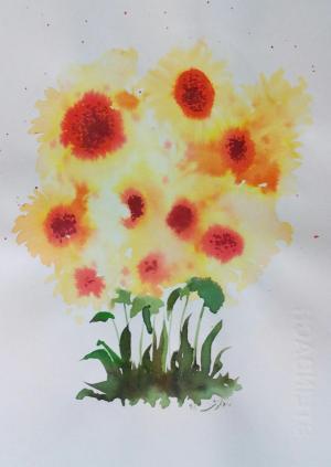 My mind flowers9  Robabeh(Roya) Delkhosh