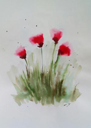 My mind flowers11  Robabeh(Roya) Delkhosh
