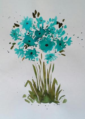 My mind flowers8  Robabeh(Roya) Delkhosh