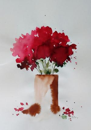 My mind flowers  Robabeh(Roya) Delkhosh