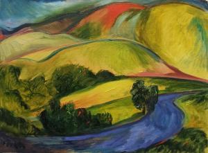 Yellow hills  Hadi Khani