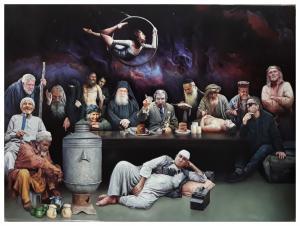 The Last supper  ebrahim alipoor