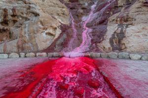 Red Waterfall  majid hojati