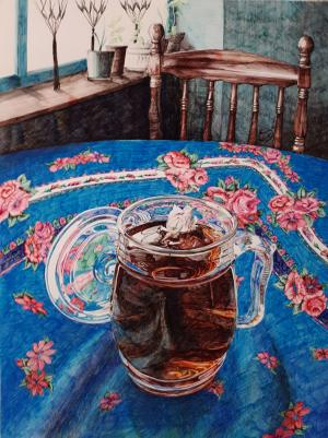 a cup of tea  Sara Pourfarzaneh