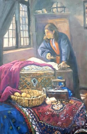 discussion  with Vermeer  tarane sadeghian-broojeni