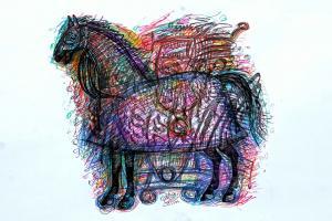 horse 8  Shamsedin Ghazi