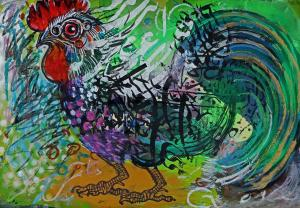 rooster    and g  Shamsedin Ghazi