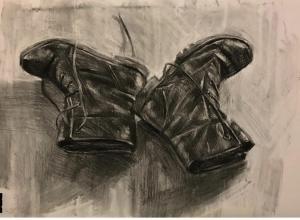 my shoes  Mahnaz Keyhani