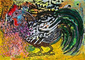 rooster 2 three  Shamsedin Ghazi