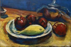 the apple and fish  Mahnaz Keyhani