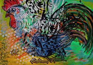 rooster 2 two   Shamsedin Ghazi