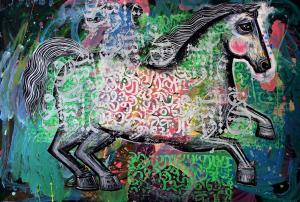horse 9  Shamsedin Ghazi