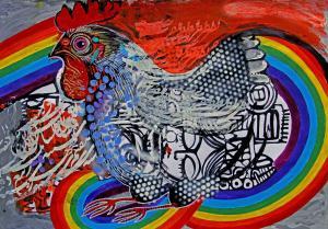 rooster 11  Shamsedin Ghazi