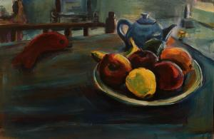 the apple and lonely fish  Mahnaz Keyhani
