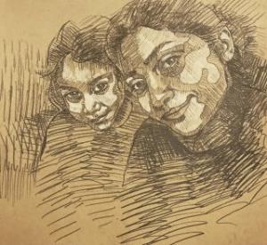 self portrait 2  Shohre Afzali fard