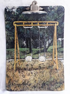 Yellow Swings  marjan nemati