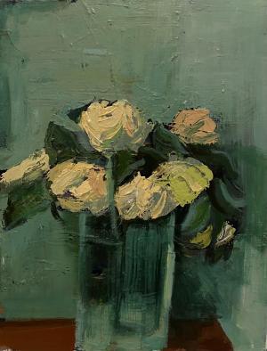 white rose  Mahnaz Keyhani