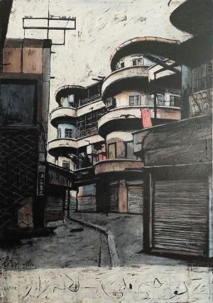 Melli Alley- Lalehzar  marjan nemati