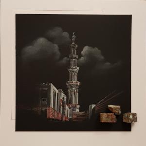 The minaret of El-Tabia Mosque  Vahid Mirzamohammadi