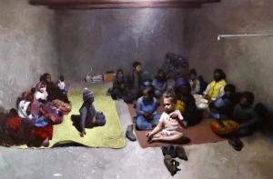 Fanuj children in the classroom  Yaser Mirzaee