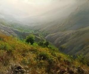 Spring on the hill  Faramarz Mokhtarpour