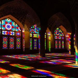Nasir al Mulk Mosque one  shoresh mobasheri