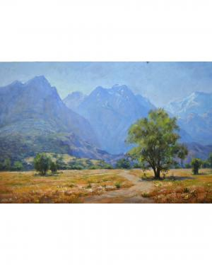 The glory of the mountains  hamid pazoki