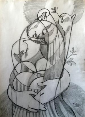 sketch number 6  mehdi khajooei