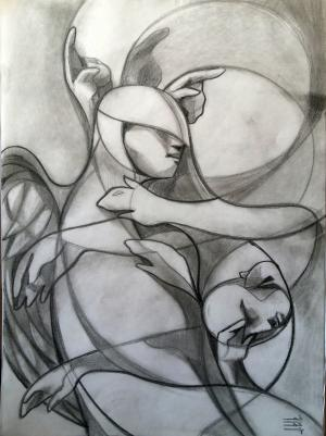 sketch number 9  mehdi khajooei